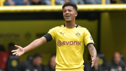 Borussia Dortmund belegte Jadon Sancho für eine Disziplinlosigkeit mit harten Strafen.