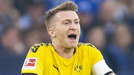Marco Reus und Borussia Dortmund zeigten beim Derby auf Schalke keine berauschende Leistung.