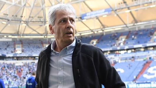 Borussia Dortmunds Trainer Lucien Favre war nach dem Derby gereizt.