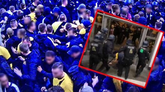Borussia Dortmund Fans erheben schwere Vorwürfe gegen die Polizei.