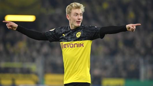 Dirigierte erstmals als Spielmacher bei Borussia Dortmund: Julian Brandt.