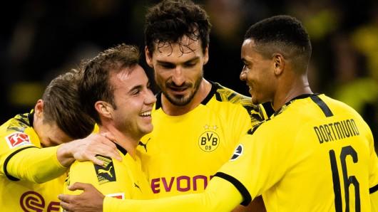 Borussia Dortmund gewann am Samstag 3:0 gegen den VfL Wolfsburg.