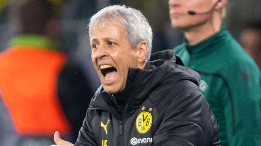 Lucien Favre erlebte mit Borussia Dortmund gegen Inter Mailand am Dienstag einen denkwürdigen Europapokalabend.