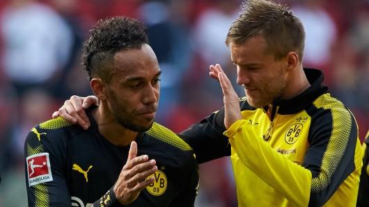 Die Verpflichtung von Andrej Yarmolenko (r.) hat für Borussia Dortmund ein Nachspiel.