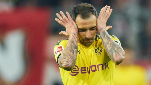 Paco Alcacer und der BVB erlebten am Samstagabend in München ein Debakel.