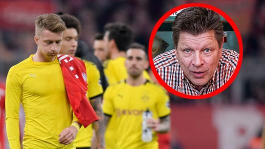 """Bruno """"Günna"""" Knust rastete wegen des Sky-Desasters bei Bayern - Dortmund richtig aus."""