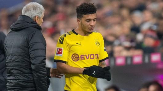 Jadon Sancho macht sich mit seiner Art bei Borussia Dortmund derzeit keine Freunde.
