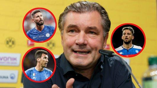 Wird Borussia Dortmund im Januar auf dem Transfermarkt zuschlagen?