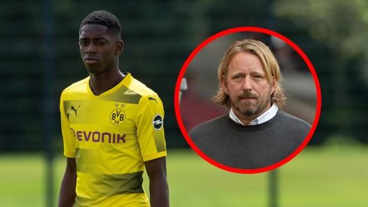 Sven Mislintat kritisiert den BVB und die Öffentlichkeit für den Umgang mit Ousmane Dembele.