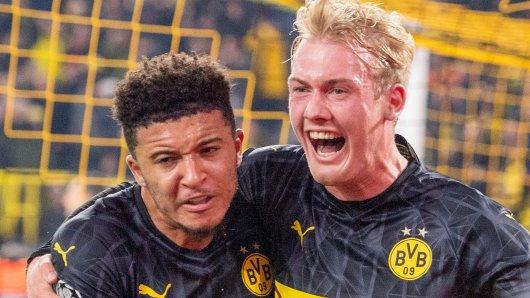 Borussia Dortmund jubelt weiter in Puma-Trikots.