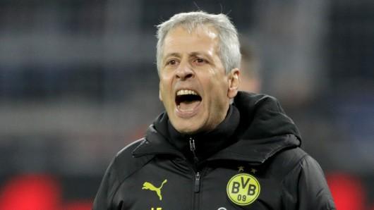 Lucien Favre steht bei Borussia Dortmund enorm in der Kritik.