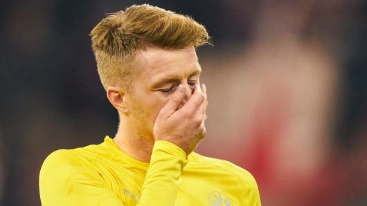 Borussia Dortmund - SC Paderborn: Marco Reus war nach dem Spiel auf 180.