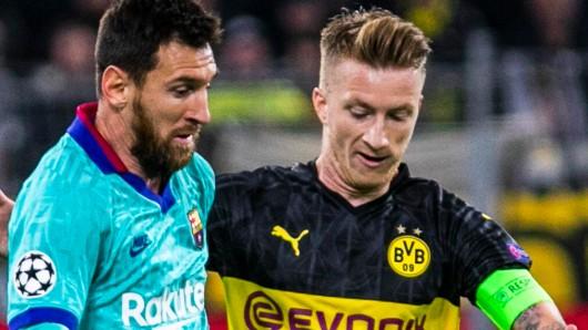 Der BVB braucht in der Champions League Schützenhilfe vom FC Barcelona.