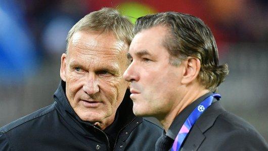 Hans-Joachim Watzke und Michael Zorc, die Hauptverantwortlichen bei Borussia Dortmund, hatten Interesse an Julian Nagelsmann.