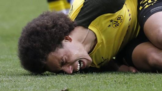 Axel Witsel, Mittelfeldmotor von Borussia Dortmund, verletzte sich durch eine kleine Unachtsamkeit schwer.