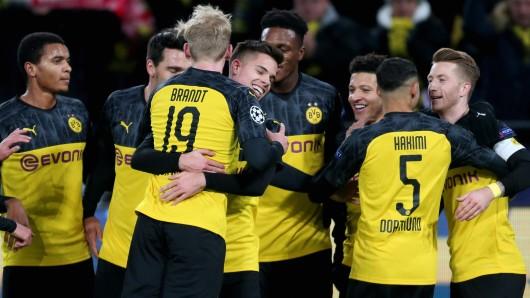Borussia Dortmund steht im Achtelfinale der Champions League – und dort warten echte Kracher-Gegner.