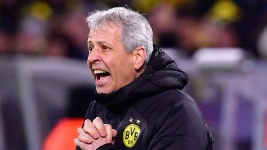 Nach dem Weiterkommen in der Champions League hat Lucien favre bei Borussia Dortmund eine klare Warnung ausgesprochen.
