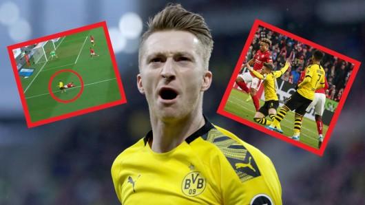 Borussia Dortmund: In der Partie gegen Mainz 05 wurde der VAR mal wieder zum großen Streit-Thema.