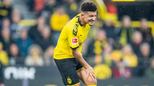 Bei Borussia Dortmund – RB Leipzig lieferte Jadon Sancho eine San-Show und verletzte sich anschließend.