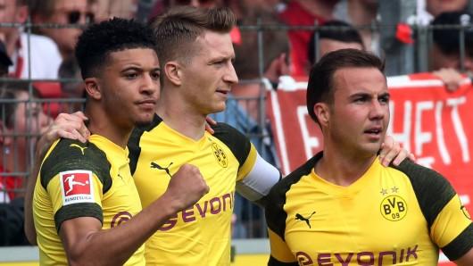 Borussia Dortmund hat eine turbulente Hinrunde hinter sich.
