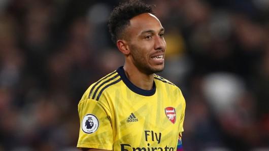 Wie einst bei Borussia Dortmund: Bei Arsenal gibt es wieder Wirbel um Pierre-Emerick Aubameyang.