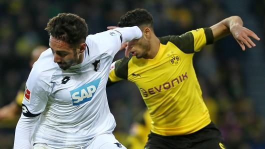 Vor dem TSG-Spiel gegen Borussia Dortmund packt Ishak Belfodil aus.