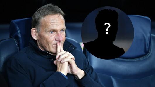 Hans-Joachim Watzke ist mit Borussia Dortmund weiterhin auf der Suche nach einem Stürmer.