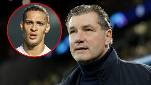 Borussia Dortmund will Antony verpflichten. Das erste Angebot wurde abgelehnt.