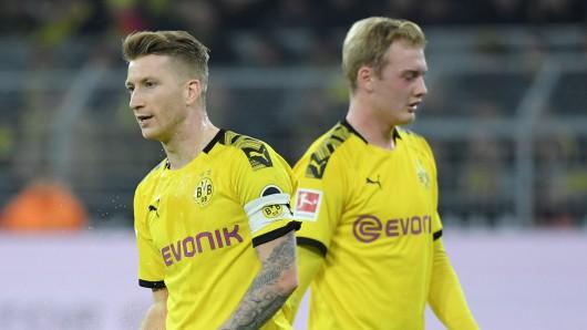 Marco Reus und Julian Brandt sind seit dieser Saison Teamkollegen bei Borussia Dortmund.