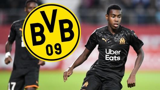 Buhlt Borussia Dortmund um Isaac Lihadji von Olympique Marseille?