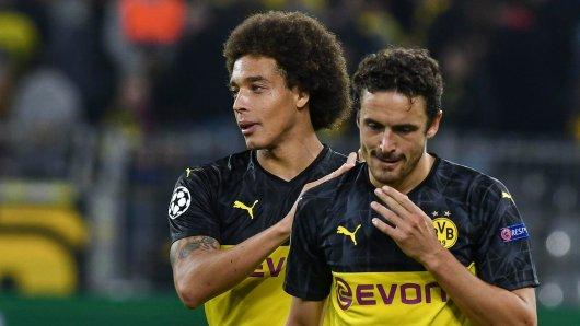 Thomas Delaney (r.) fehlt Borussia Dortmund wohl auch zum Start in die Rückrunde.