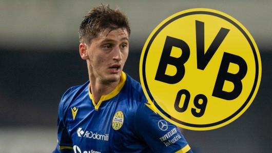 Marash Kumbulla wird mit Borussia Dortmund in Verbindung gebracht.