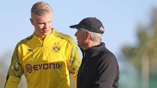 Erling Haaland passt nicht in Dortmunds neues Erfolgssystem – was macht Favre nun?