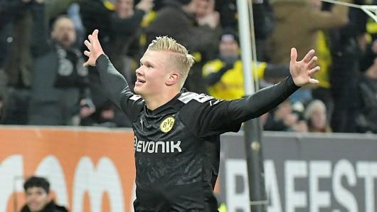 Erling Haaland versetzt alle bei Borussia Dortmund in Ekstase.