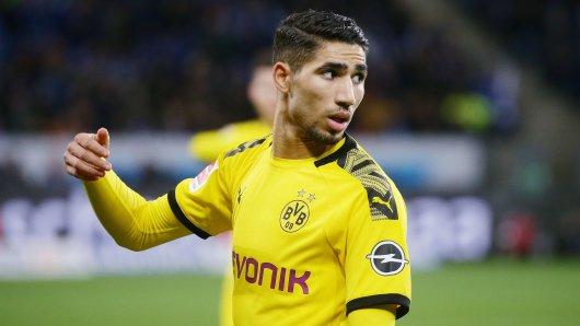 Bleibt er oder geht er? Borussia Dortmunds Achraf Hakimi.