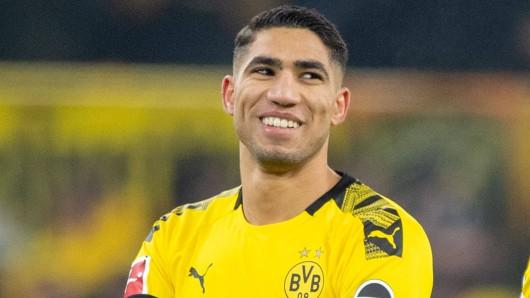 Achraf Hakimi, Senkrechtstarker bei Borussia Dortmund, will nicht um jeden Preis zurück nach Madrid.