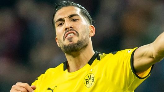 Emre Can fand nach dem 3:4 von Borussia Dortmund bei Bayer Leverkusen deutliche Worte.