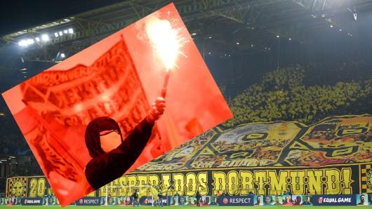 Beim CL-Kracher von Borussia Dortmund gegen PSG droht ein Fan-Chaos.