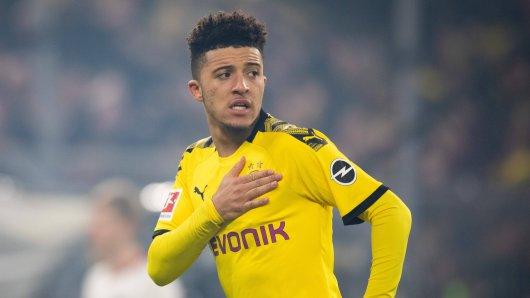 Befindet sich Jadon Sancho von Borussia Dortmund in Vertragsgesprächen?