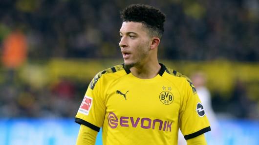 Um BVB-Star Jadon Sancho reißt sich halb Europa.