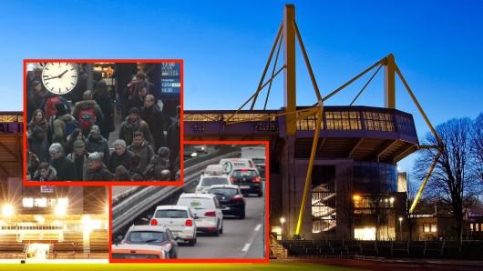 Wenn Borussia Dortmund auf PSG trifft, droht den Fans eine ungemütliche Anreise.