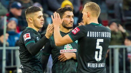 Borussia Dortmund beschäftigt sich mit Milot Rashica (l.). Doch die Sache hat einen Haken.