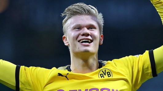 Erling Haaland trifft bei Borussia Dortmund wie er will.