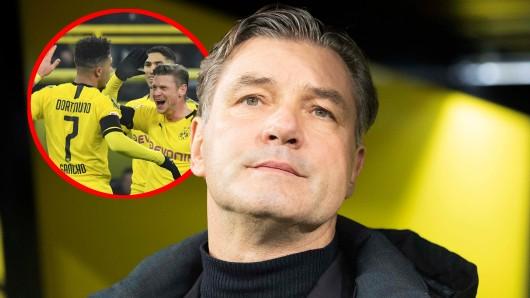 Auf BVB-Sportdirektor Michael Zorc könnte im Sommer eine knifflige Aufgabe zukommen.