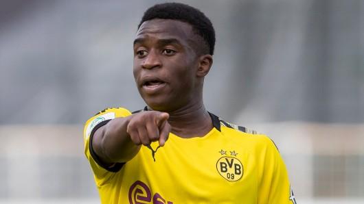 Youssoufa Moukoko ist eines der ganz großen Talente bei Borussia Dortmund.