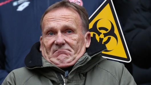 BVB-Boss Hans-Joachim Watzke sorgte mit seinen Aussagen zum Coronavirus in der ARD-Sportschau für Fan-Wut.