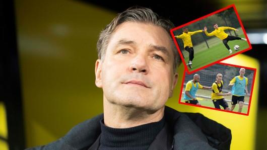 Einige Spieler stehen bei Borussia Dortmund vor einer ungewissen Zukunft.