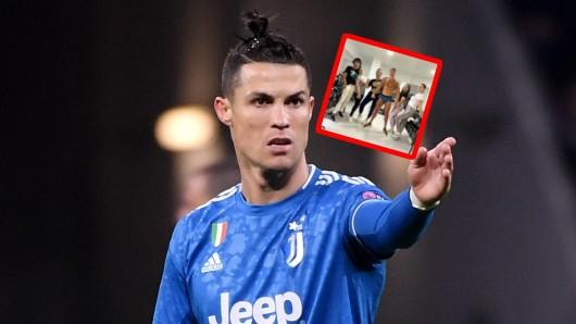 Cristiano Ronaldo zeigt seinen Fans gerne seine Muskeln.