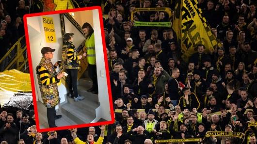 Ein BVB-Fan hat für die fußballfreie Zeit eine geniale Idee.