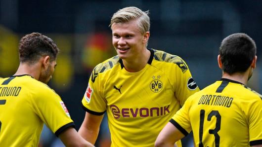 Borussia Dortmund fegte am Samstagnachmittag den FC Schalke mit 4:0 vom Feld.
